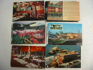 50 Restaurant Postcard Lot