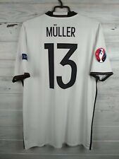 Muller Germany soccer jersey Large 2016 home shirt AI5014 football Adidas