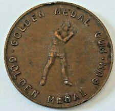 Golden Medal Gum Boxing UK. Rare