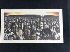 DISTURBED 2005 Ten Thousand Fists McFarlane Poster number 909/2500 rare!