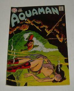 KEY 1969 DC COMICS AQUAMAN # 48 ORIGIN ISSUE JIM APARO art AQUAGIRL BELOW GUIDE