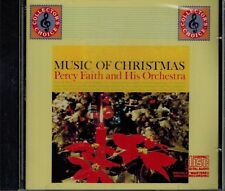 PERCY FAITH & HIS ORCHESTRA- MUSIC OF CHRISTMAS - NEW SEALED CD