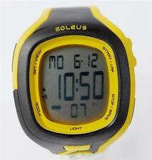 Men's Soleus Digital Watch Yellow and Black New In Box