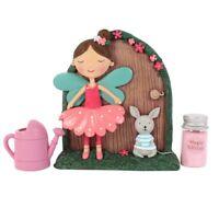 Woodland Fairy Door & Accessories, Fleur & Marvin, Includes Magic Glitter!