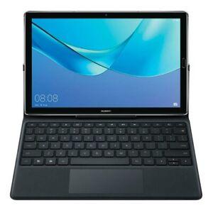 "Huawei Media Pad M5 10.8"" inch (Pro) QWERTY Smart Keyboard Folio Case"