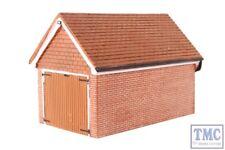 R9826 OO Gauge Detached Brick Garage