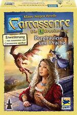 Hans im Glück Carcassonne 3. Erweiterung Burgfräulein und Drache 48256