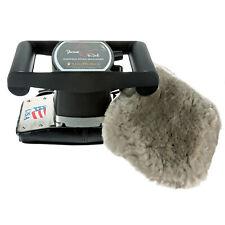 Core Products Jeanie Rub De Velocidad Variable De Cuerpo Completo Combo de funda de piel de oveja Masajeador