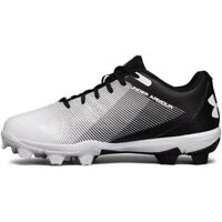 Size 1Y Under Armour Leadoff Low RM Jr 1297316-011 Baseball Cleats - Boys