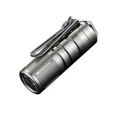 Jetbeam MINI-1 Titanium 2017 Keychain Flashlight XP-G2 LED -130 Lumens