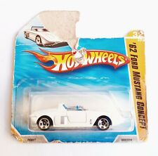 Hot Wheels 1/64 3 inch '62 Ford Mustang Concept '10 Premiere