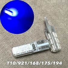 PARKING LIGHT T10 LED BLUE bulb No Canbus Error w5w 168 194 2825 for Toyota