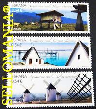 2014 ARQUITECTURA RURAL MOLINO HORREO BARRACA EDIFIL 4863 / 65 ** MNH    TC20595
