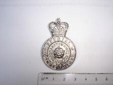 Obsolete Northants County Spec. Constable cap badge,  wh. metal.