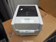 """Toshiba TEC B-EV4T GS14-QM-R 4"""" Thermal Label Printer USB LAN Drucker TESTED OK"""
