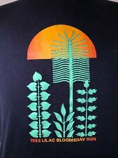 Vintage 1983 Nike Lilac Bloomsday Run Mens T-Shirt L