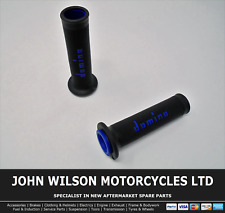 Honda GL 1000 LTD Goldwing 1976 Black Blue Domino Handle Bar Race Grips