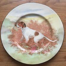 ROYAL DOULTON LARGE PLATE HUNTING DOG c1938  SERIES WARE HANDPAINTED? VGC No1