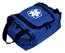 "DIXIE EMS FIRST RESPONDER EMT JUMP TRAUMA BAG - BLUE 10.5""X 5"" X 8"""