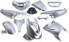Verkleidung Verkleidungsset 11 Verkleidungsteile Silber Aprilia SR SR50 SR 125