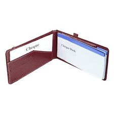 Cheque Book Holder Cheque Book Case Card Holder Cheque Holder