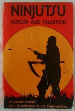 Ninjutsu History and Tradition Dr. Masaaki Hatsumi Used Acceptable Condition