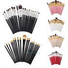 20pcs Makeup Set Powder Eyeshadow Eyeliner Foundation Lip Cosmetic Brushes Tools