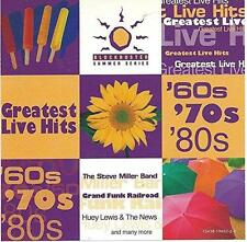 BLOCKBUSTER SUMMER SERIES Greatest Live Hits CD: Steve Miller*Beach Boys*Blondie