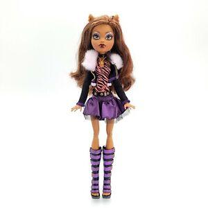 Monster High CLAWDEEN WOLF Doll 1st First Wave Mattel Reissue