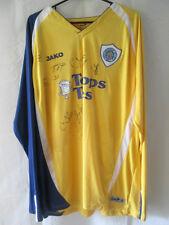 Leicester Ville 2009-2010 troisième shirt signé par escadrons avec coa / 12181