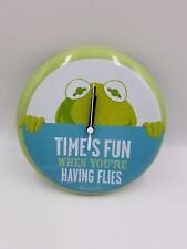 Muppets Kermit the Frog clock