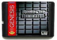 RoboCop Versus The Terminator Sega Mega Drive Genesis Game Cartridge 16 Bit Cart