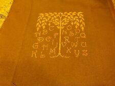 du  fait main point de croix pour futur mini-tableaux,neuf,l arbre