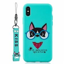 Kiss Dog Hand Rope New Hot Cute Cartoon Silicone Case Cover For Various Phone
