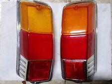 TRASPARENTI FANALI POST. FIAT 500 F-L-R ORIGINALI ALTISSIMO (NON RICOSTR.) DX+SX