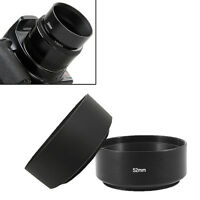Screw Mount 52mm Standard Metal Lens Hood for Canon Nikon Pentax Sony Olympus X#