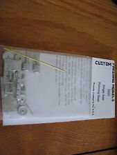 Custom Finishing HO #5003 Running Gear Kit - Single Axle