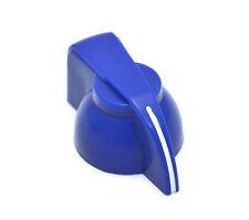 CHK-700BU (1) Blue Chicken Head Knob For 6mm Split Shat Pots Guitar/Amp/Pedal