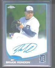 2013 TOPPS CHROME AUTO BRUCE RONDON ROOKIE AUTOGRAPH DETROIT TIGERS MINT