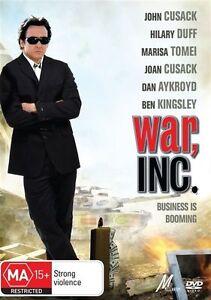War Inc DVD_JOHN CUSACK MOVIE