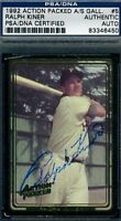 Ralph Kiner Signed Psa/dna 1992 Action Packed Certified Autograph Authentic