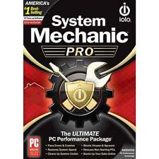 IOLO System Mechanic PRO (1 PC, 1 Year) (Activation Code Only - No CD)