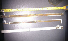 antique brass cabinet door locks flush