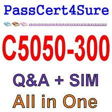 IBM Best Exam Practice Material for C5050-300 Exam Q&A PDF+SIM