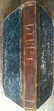 COURS DE CONSTRUCTIONS FORESTIÈRES - ECOLE ROYALE DE NANCY - PAUL LAURENT 1848