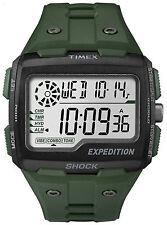 Orologio Timex Grid Shock Expedition sport verde militare cronografo TW4B02600