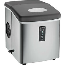 Igloo ICE103 Countertop Ice Maker with Oversized Ice Basket - Stainless Steel