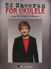 Ed Sheeran for Ukulele Strum & Sing 15 Hits Chord & Melody Songbook Music Book