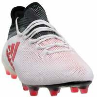 adidas X 17.1 Firm Ground  Casual Soccer  Cleats - White - Mens