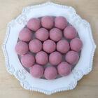 4-5cm DUSTY PINK Felt Wool Balls CHOOSE QUANTITY handmade dryer balls pom poms